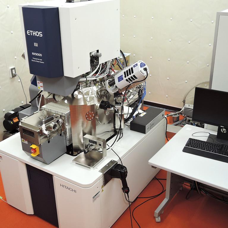 バイオ/無機材料用高速FIB-SEMシステム ETHOS NX5000